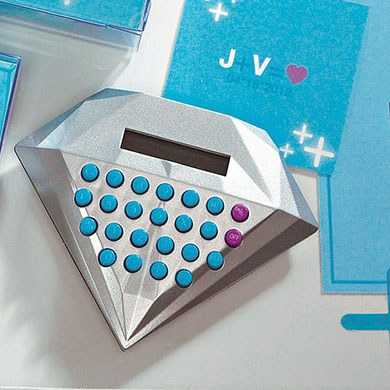 We Add Up Novelty Wedding Favor Calculator in Gift Packaging