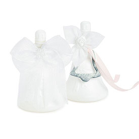 Wedding Bell shaped Favor Bubbles