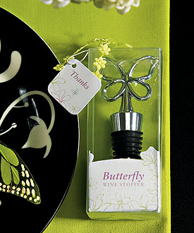 butterfly wine stopper