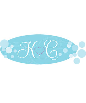 Mini Champagne Bubbles Wedding Window Cling