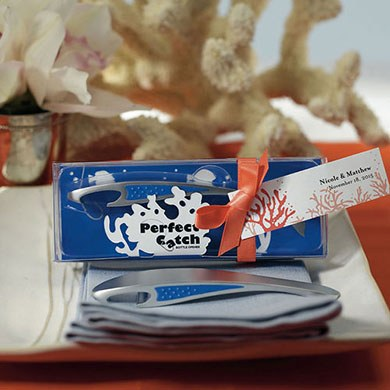 Perfect Catch Wedding Favor Bottle Opener