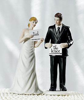 Read My Sign Bride Cake Topper