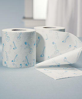 Bride and Groom Wedding Toilet Paper