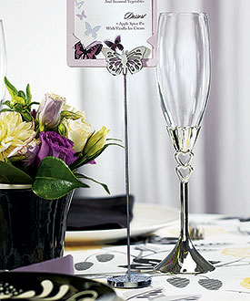 Butterfly Stationery Table Number Holder