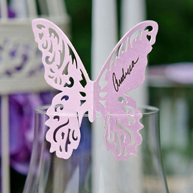 Laser Expressions Butterfly Die Cut Card – Standard Paper