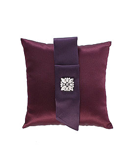 The Nicole Color Personality Ring Bearer Ring Pillow