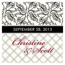 Eclectic Patterns Square Tag