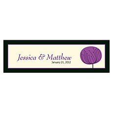 Romantic Elegance Small Rectangular Tag