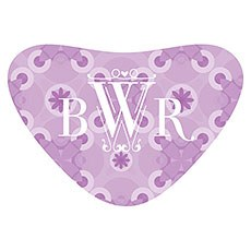 Floral Pattern Heart Container Sticker