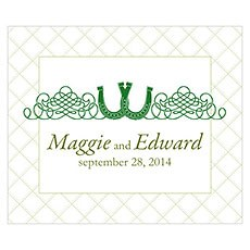 Luck Of The Irish Rectangular Label