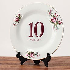 Classic Table Number Diecut Clear Cling