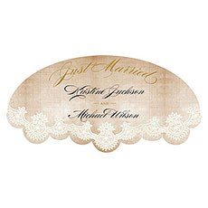 Vintage Lace Large Cling
