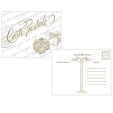 Parisian Love Letter Post Card