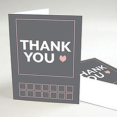 Times Square Thank You Card