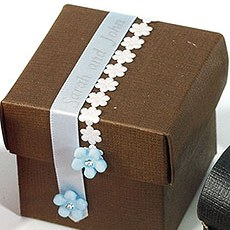 Mini Flower Chain Diecut Ribbon