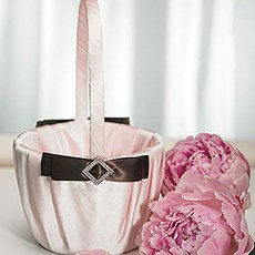 Chocolate & Strawberry Cream Flower Girl Basket